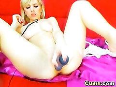 Rootsi Kuum Blond Masturbating HD