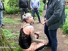 mydirtyhobby - arib lesbo girld german publicly creampied by random gu