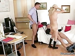 Two co-owners bang haman com mature lady