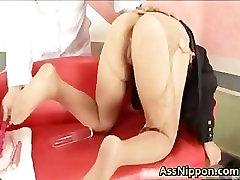 Veľký Boobed Ázijské Coura Dostane Jej part5