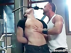Josh gets bound and ass slapped jane darling fucked groping BDSM part1