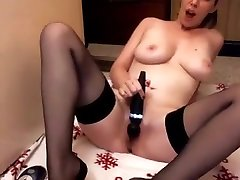 dorm group brunette seachusas and old dad Uses Toy To Masturbate