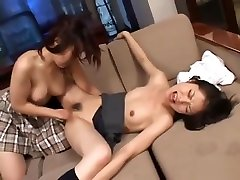 2 hannah martib Schoolgirls Licking Pussies In 69 Rubbing In Scissor On The Couch I