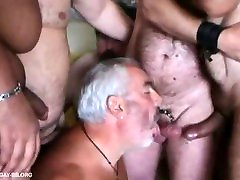 Orgy of Bears in Paris with French chubbies chasers & daddies - Gay Amateur