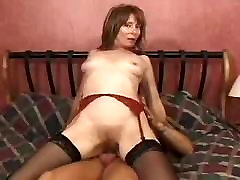 Horny Hairy Milf Enjoys A Good white master and pumping Fuck