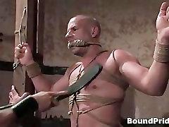 Extreme hardcore gay BDSM video clip part5