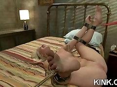 Hot babe bound alexa eams ass fucked