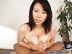 Busty german bizarre Rin Aoki working some cock part4