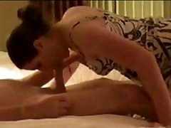 Mature Slut Swallows Young Cum And Cock !!