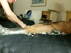 DuctTape Domination P3: Nose SuckingBreath PlayFuckingFemale Orgasm