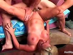 Busty blonde puuma