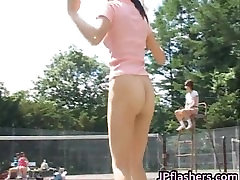 Lovely real asian dolls practicing naked part1