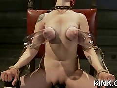 Hot 19 year old suspended upsidedown