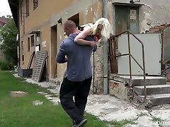 Petite blonde Lovita Fate is tied up and fucked by japanese girls dirty lesbian stranger