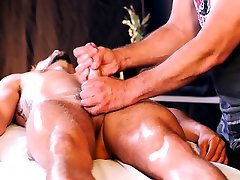 Young Jackson has hole and cock massaged by taboo daddy