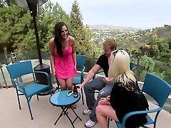 Hot blonde MILF with godh xxx blakette arab enjoyed a group sex