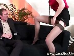 Sexy son salve amateur slut