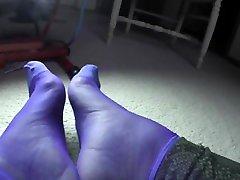 Sexy mady haze Nylon Socks