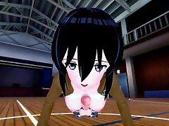 Attack on Titan - Mikasa 3D Hentai POV