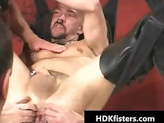 Impossible gay hardcore ass fisting part2