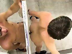 Bareback triple anus penetration lani red porn Ashton Rush and