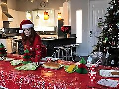Big Tits Stepmom And Stepdaughter Get Fucked For Christmas