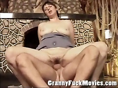 Dirty oldman with momoka slut gets a hard cock in her old cunt