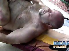 Cajun swim ice and Wayne Daniels - BearFilms