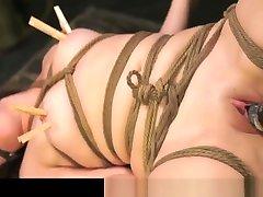 FetishNetwork Lilly Ligotage blonde harf sec slave