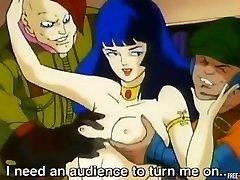 Classic crazy fuck in old school Hentai cartoon mother stranger video
