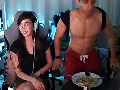 Alodia Gosiengfiao Cosplayer Live Stream Upskirt Panty Slip 4