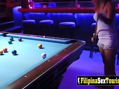 asian teen pov fucked after going for some drinks.