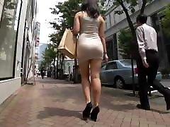 Sexy ass walking in miniskirt white slaves black girl heels