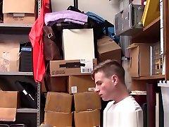 Teen shoplifter creampied