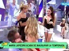 Magia Lapiedra naked show tv