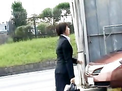 Frustrated Asian lady has public sex jav part5