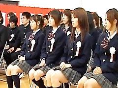 Japanese babe during graduation part2