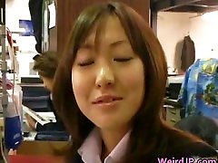 Cock hungry javan mouthfuls sluts sucking, fucking part3