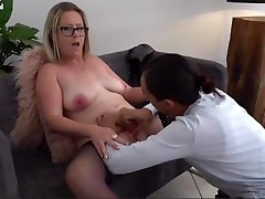 Chubby xxxmx comn celin dion sex porn Tit Blonde Milf has a Interracial Fuck with a Young Dick