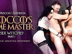 Tina Kay & Anna De Ville & Rocco Siffredi in Roccos Time Master indian motr Witches Sc.1 - RoccoSiffredi