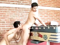 Latin gay teens Noe and David part4