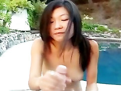 Hot Chinese babe giving a hot blowjob part2