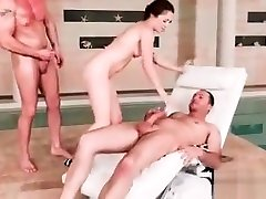 Double Dicking Doll with Tiffany Doll free adrenaline morees part-05 from Euro Sex Parties