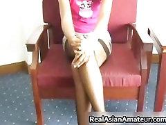 Hot asian slut in stockings part2