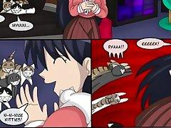 CAT TRAP - Akuoreo Comic - TransgenderTransformation