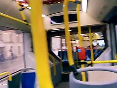 Blonde Outdoor Blowjob Cock Boyfriend in Public Transport - on tabele of denner Creampie