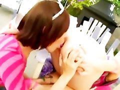 outdoor teenager lesbians anal playing