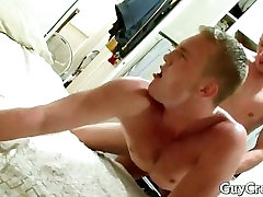Andrew is fucking his cock hungry gay part5