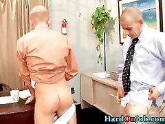 Hardcore fucking and sucking at the job part4