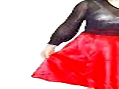 Hong Kong lesbiešu shemale Boylady Shirley ir tērpi & svārki